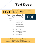 Dyeing Guide Wool