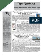 December 2008 Redpoll Newsletter Arctic Audubon Society