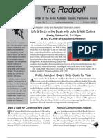 October 2009 Redpoll Newsletter Arctic Audubon Society