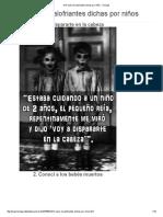 10 Frases Escalofriantes Dichas Por Niños - Taringa!