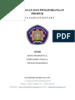 Perancangan Dan Pengembangan Produk Meja Rotary