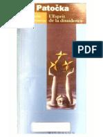 Patocka, Jan_L'Esprit de La Dissidence