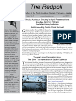 April 2010 Redpoll Newsletter Arctic Audubon Society