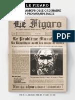 Le Figaro – De l'islamophobie ordinaire à la propagande nazie