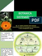 Botánica Sistemática