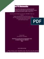 Contoh Proposal PTK Matematika