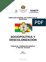 Texto de Sociopolitica y Desc.