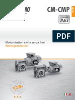 260id Transtecno G CM CMP Wormgearmotors 0217 50 Hz