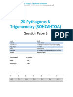 62.3 2d Pythagoras Trigonometry -Cie Igcse Maths 0580-Ext Theory-qp