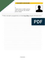 2.Ejercicio de Descriptive Paragraph n.1