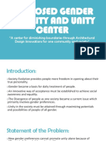 Proposed Gender Equality and Unity Center