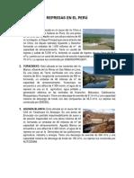 Represas en El Perú