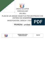 PUD Invetsigación 1ra Unidad