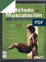 metodo de musculación