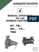 Manual de bomba centrifuga