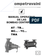 Manual de bomba centrifuga