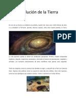 La Evolucion de La Tierra - Diego