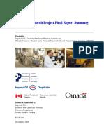 Biodiesel Research Project Final Report Summary Dec09 Publication En