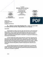 City of Columbus Response to County CLRA Letter