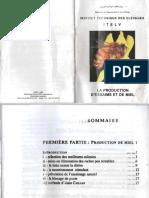 La Production d Essaims Et de Miel Itelv 1999