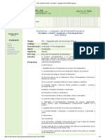 EMENTA - Avaliação e Psicodiagnóstico
