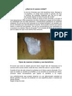 Qué Es El Cuarzo Cristal