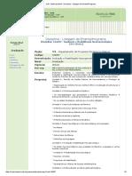 EMENTA - Avaliação e Reabilitação Neuropsicológica