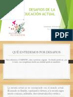 Desafios de La Educación Actual, II Jornada de Inclusión