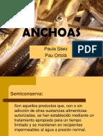Conserva de Anchoas