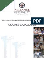 EPGDM Course Catalogue 2013