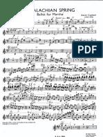 19. Appalachian Spring - Violino 1.pdf