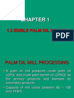 Chapter 1 - Part 3 Edible Palm Oil Milling