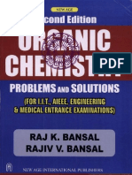 Organic Chemistry Problems and Solutions
