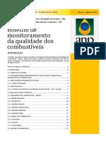 Boletim de monitoramento da qualidade dos combustíveis junho 2017