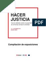 Hacer Justicia Cuadernillo CELS
