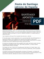 Hoy Es La Fiesta de Santiago Apóstol