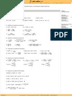 Ejercicios de Identidades trigonometricas