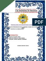 Informe de Acidez de Control de Calidad de Carne PH
