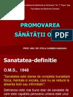 Promovarea Sanatatii Orale