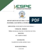 Diagrama P&ID de un proceso