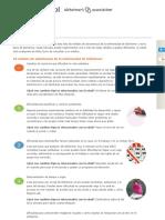 Las 10 Señales | Portal Español de la Alzheimer's Association