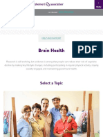 Brain Health | Alzheimer's Association