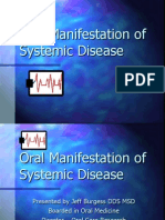 Oral Manifestation of Systemic Disease