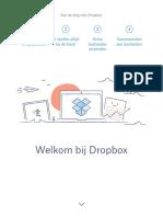 Aan de Slag Met Dropbox
