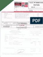 03-05-2018 ( 249159 Km ) Factura de Mmtt y Factura de Alineamiento