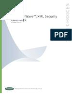 Wave XML Security Gateways