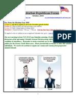 NSRF October 2010 Newsletter