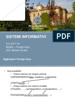 MySQL - Foreign Keys