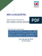 Anexo Cumbre Judicial Iberoamericana