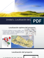 Unidad 2 - Localizacion Del Proyecto 2a Parte